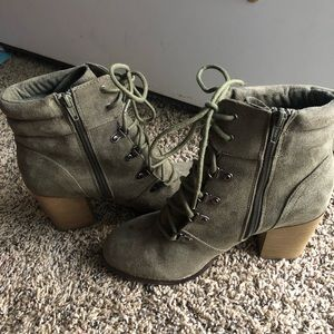 Shoes - Candies Lace Up Booties